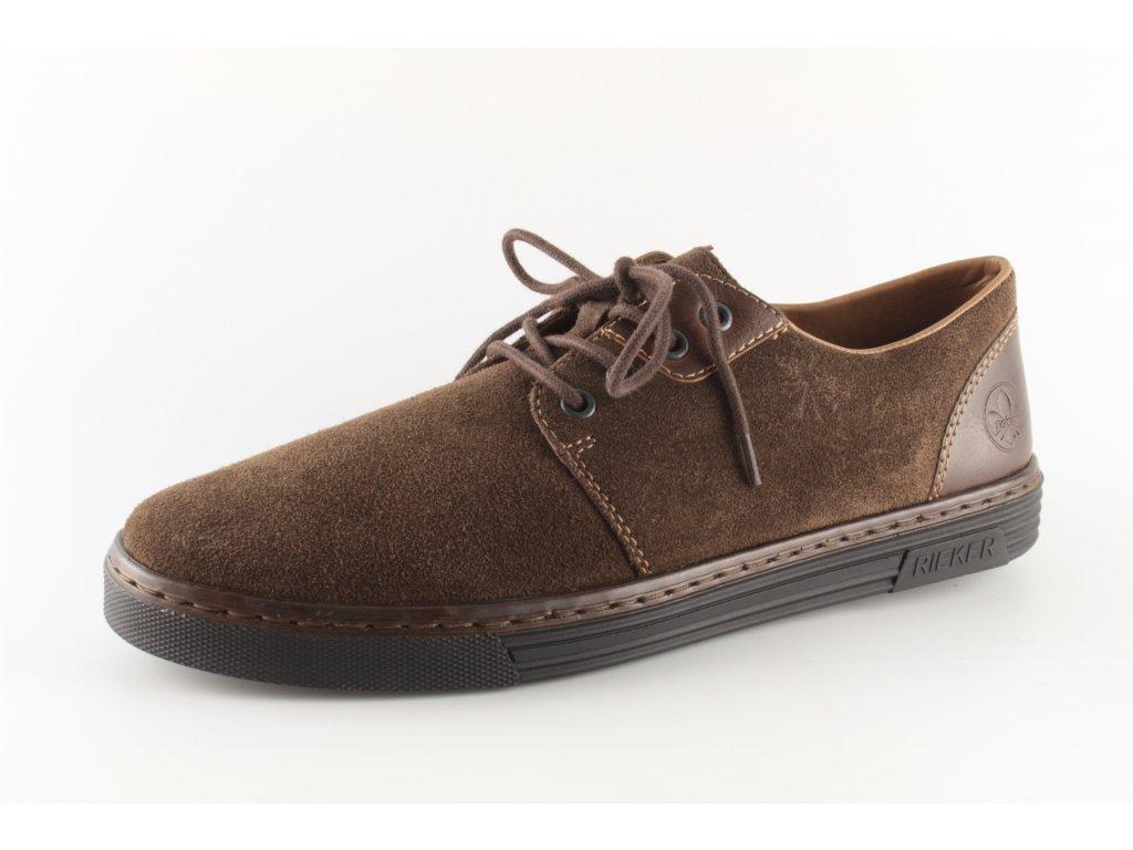 Pánská obuv Rieker B4942-25 (Barva hnědá, Velikost 46)