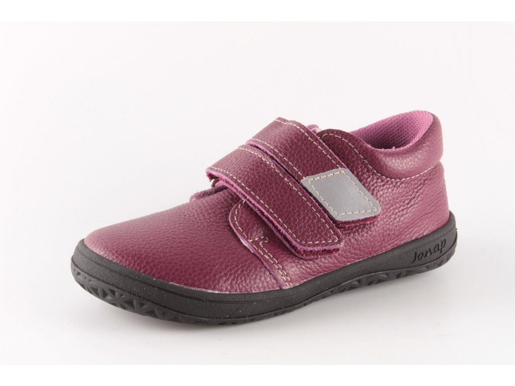 Dětská obuv Jonap B1 VELCRO/22 vínová (Barva červená, Velikost 25)