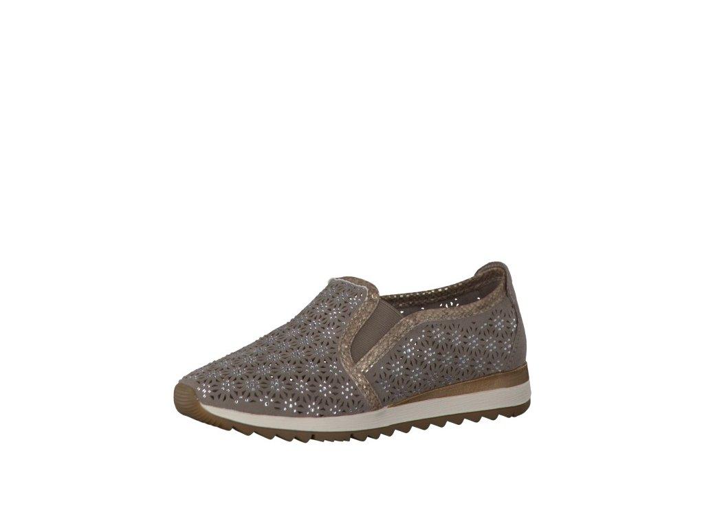 Dámské boty JANA 8-24704/28 (Barva béžová, Velikost 41)