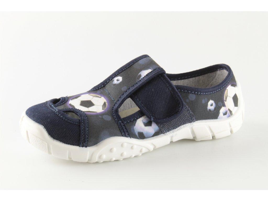 Dětské papuče Igor 15 (Barva Modrá, Velikost 25)