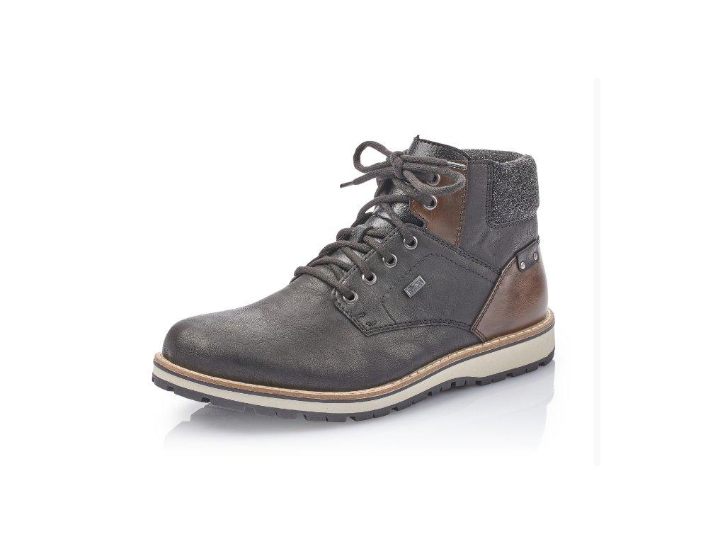 Pánské boty Rieker 38434-00 (Barva černá, Velikost 47)
