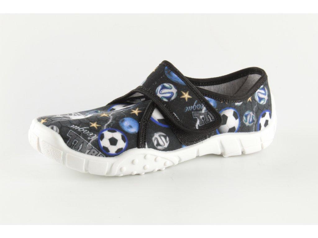 Dětské papuče Tomek T6 (Barva Modrá, Velikost 25)