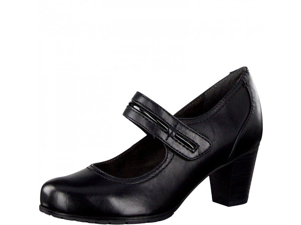 Dámská obuv Jana 8-24404/23 (Barva černá, Velikost 41)