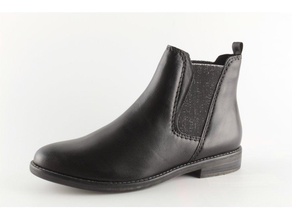 Dámské boty Marco Tozzi 2-25366/33 černé (Barva černá, Velikost 42)