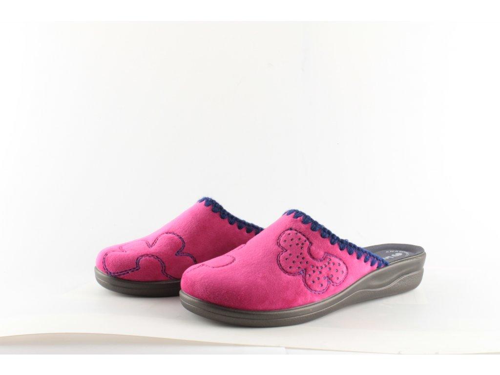 Dámské pantofle Inblu CF22/30 (Barva růžová, Velikost 40)