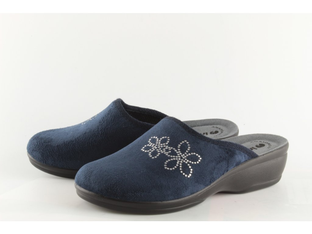 Dámské pantofle Inblu BJ108 (Barva Modrá, Velikost 41)