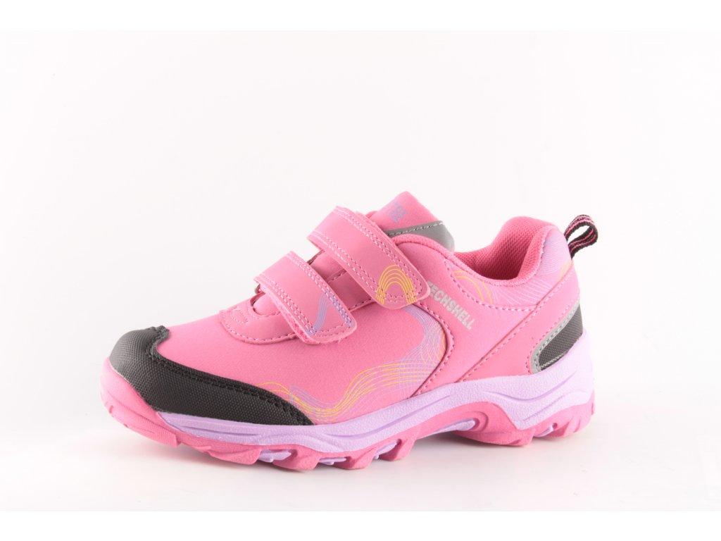 Dětské boty Effe Tree SA 16017-600 AKCE (Barva růžová, Velikost 35)