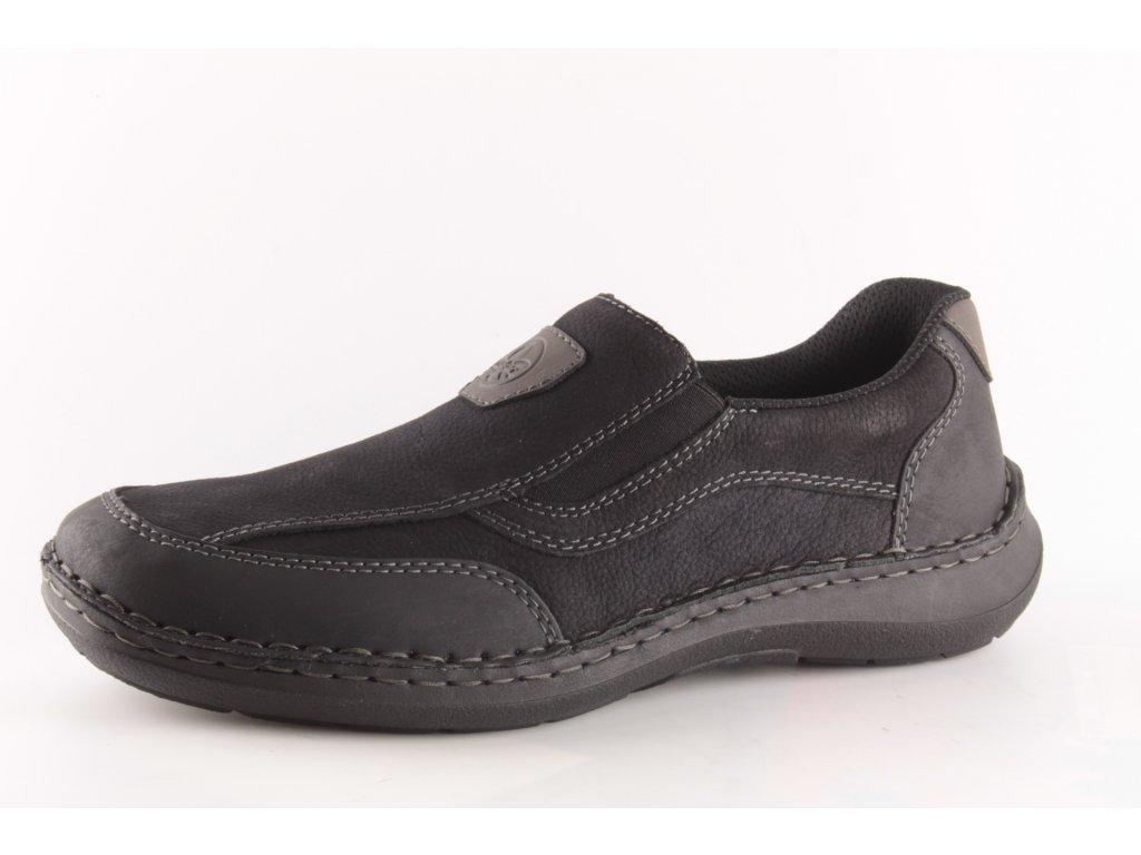 Pánské boty Rieker 03060-00 (Barva černá, Velikost 46)