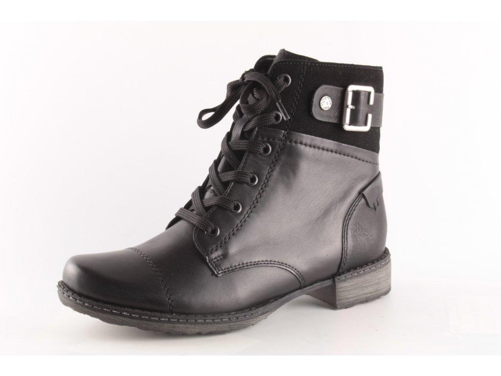 Dámské boty Rieker Remonte D4368-01 (Barva černá, Velikost 43)