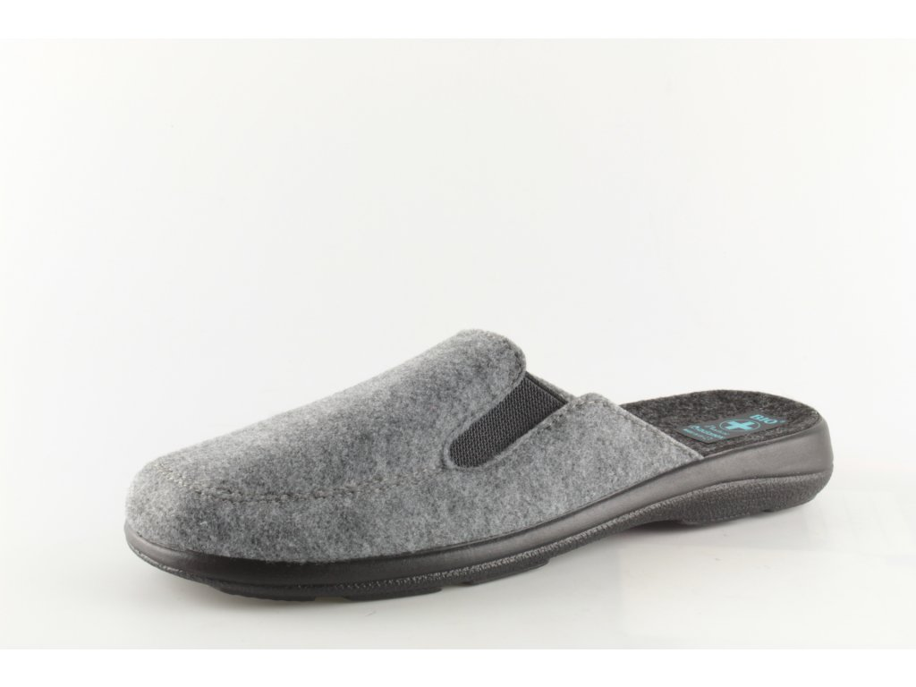 Pánské pantofle Adanex 21106 (Barva šedá, Velikost 42)