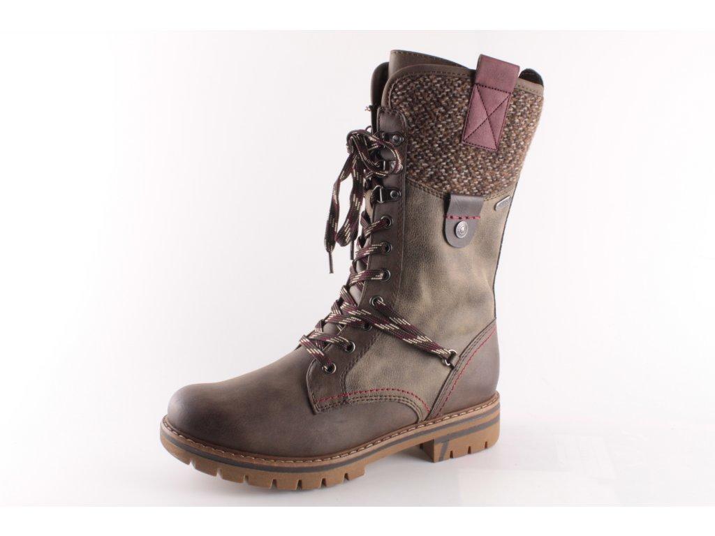 Dámské boty Marco Tozzi 2-26296/23 (Barva hnědá, Velikost 42)