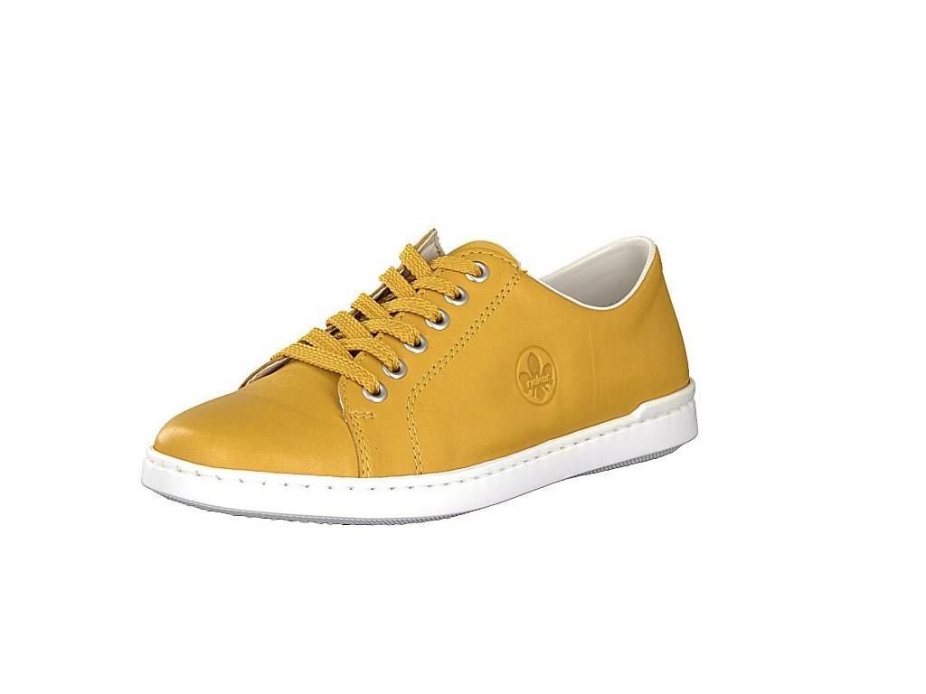 Dámské boty Rieker kožené DC L2710-68 (Barva žlutá, Velikost 41)