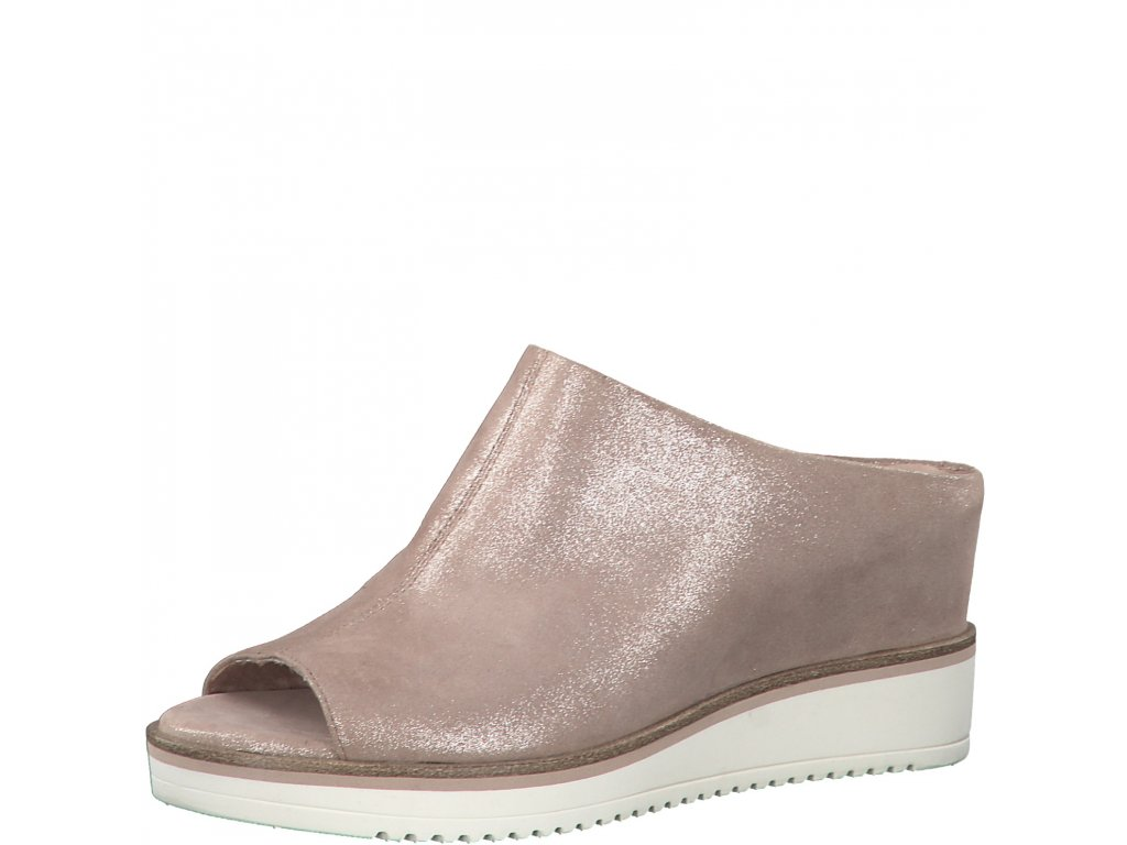 Dámské boty Tamaris 1-27200/24 TRENDY model (Barva béžová, Velikost 41)