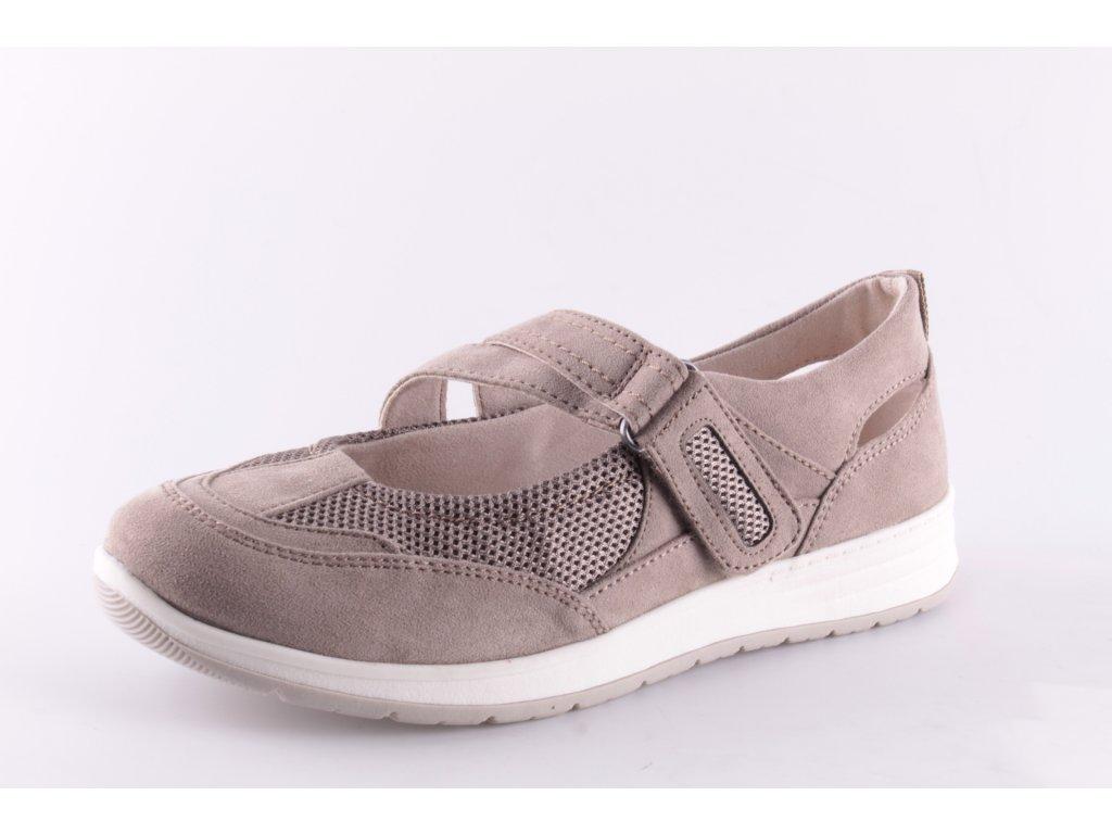Dámské boty Jana 8-24663/24 (Barva béžová, Velikost 42)