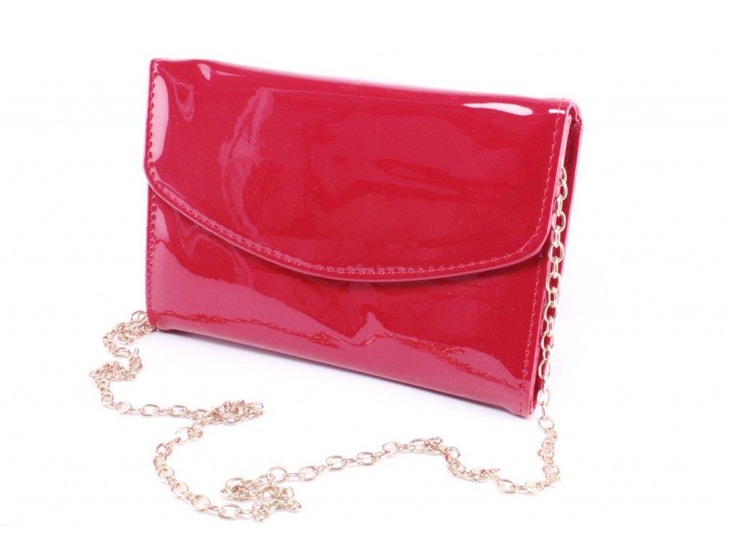 Dámská kabelka PSANÍČKO KAB FO 1124-30 cenový HIT (Barva červená)