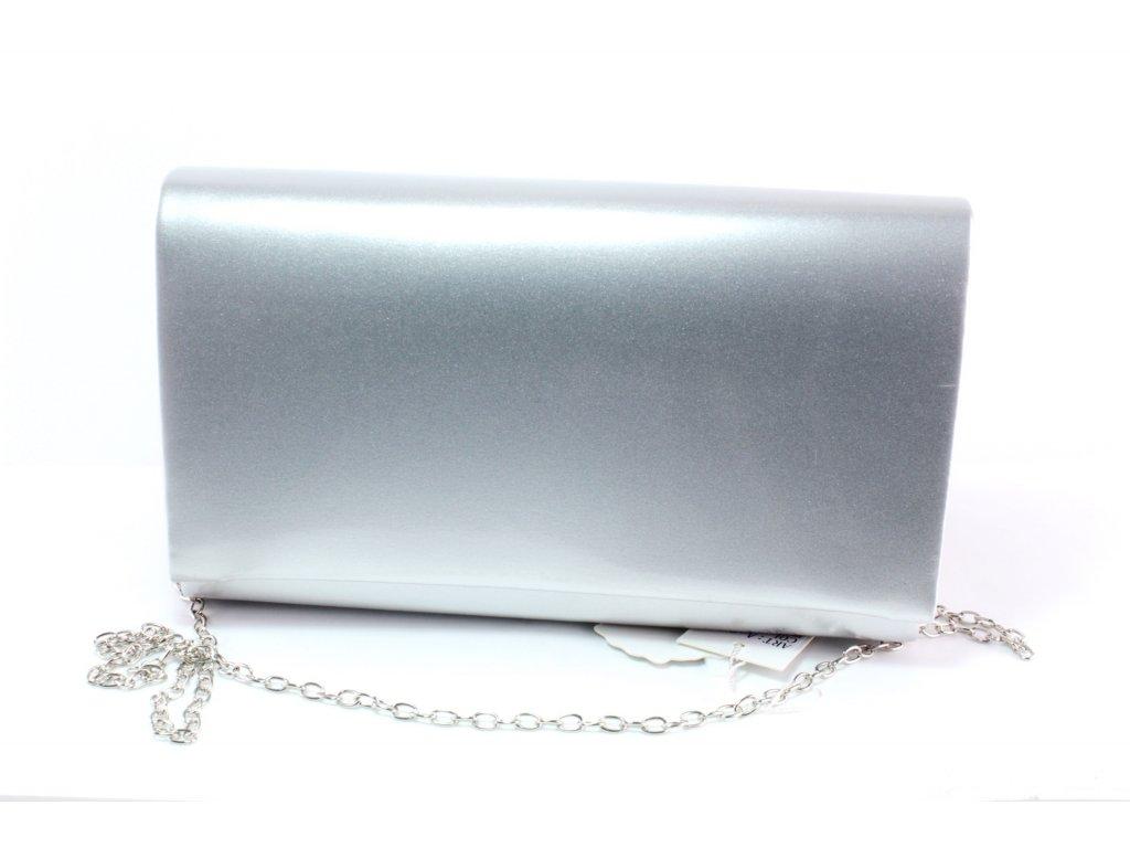 Dámská kabelka PSANÍČKO KAB FO PSA 2106 cenový HIT (Barva stříbrná)