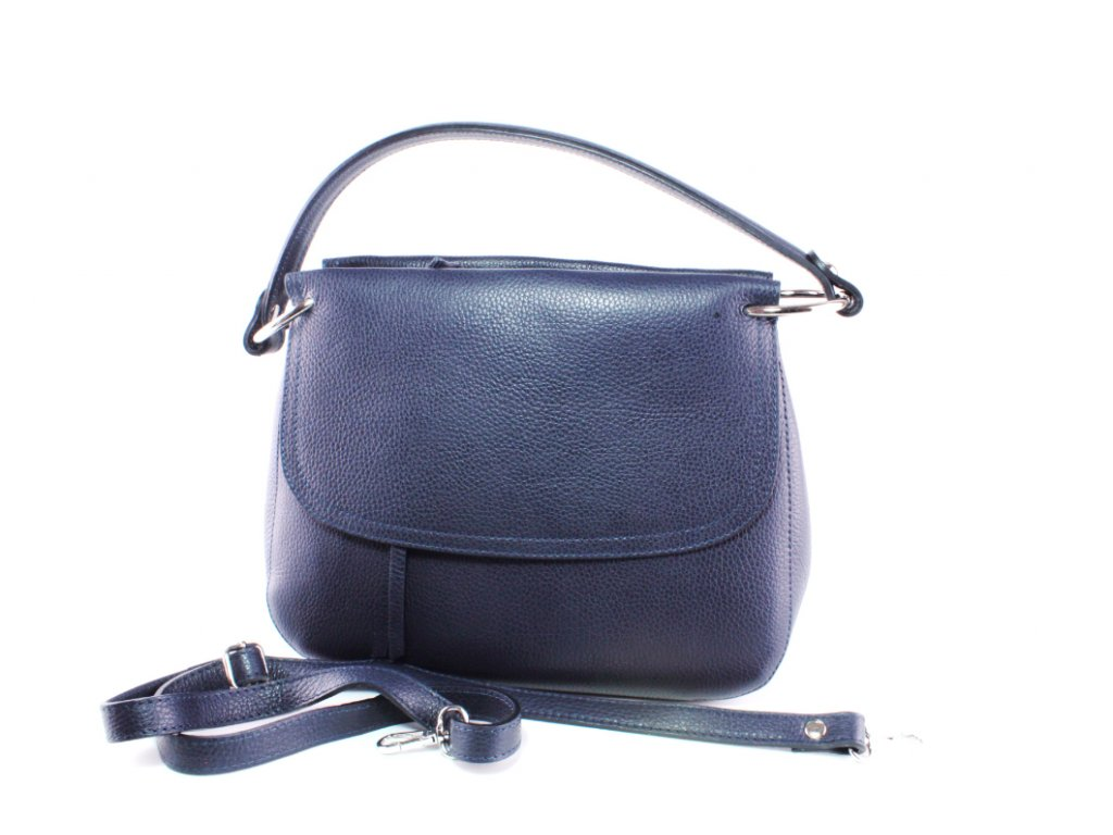 Dámská kabelka Florencie KAB FO K251 KŮŽE (Barva Modrá)