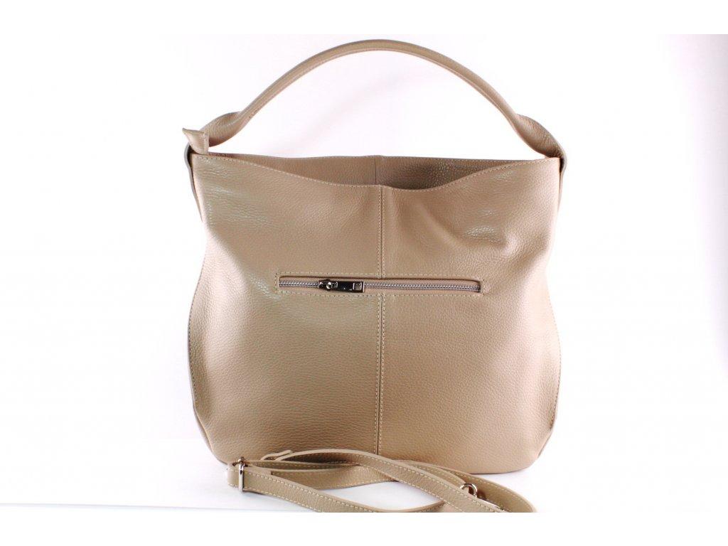 Dámská kabelka Florencie KAB FO K250 béžová (Barva béžová)