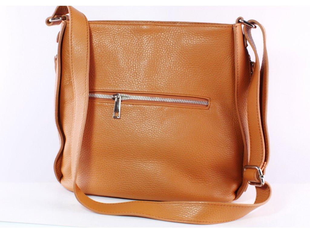 Dámská kabelka Florencie KAB FO K220 hnědá (Barva hnědá)