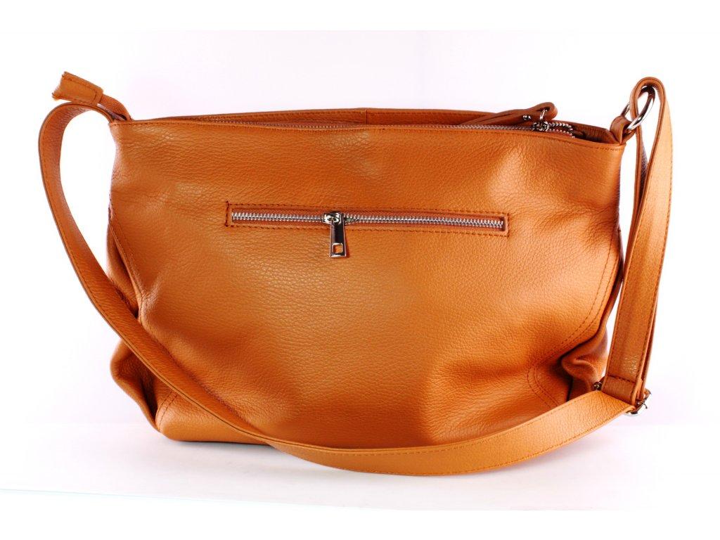 Dámská kabelka Florencie KAB FO K231 hnědá (Barva hnědá)