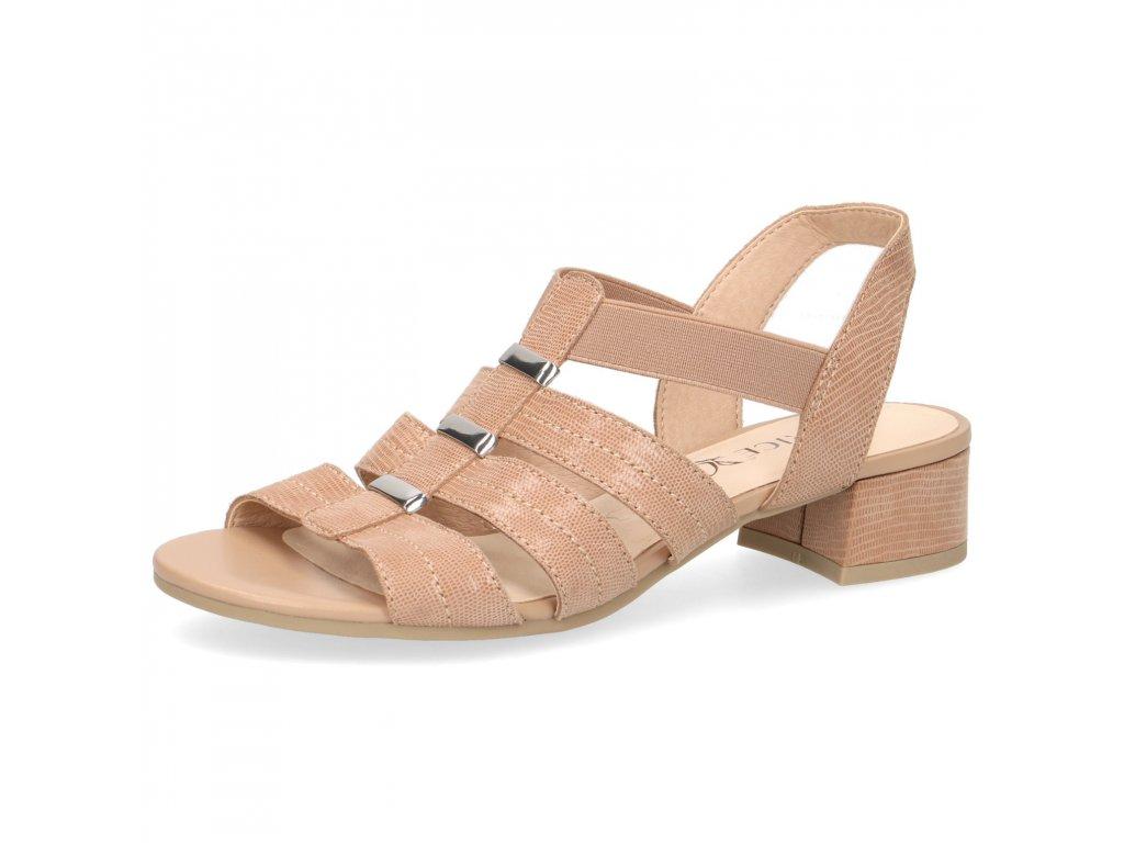 Dámské sandály Caprice DL 9-28204/24 (Barva béžová, Velikost 41)