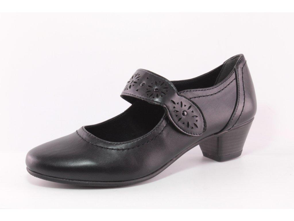 Dámská obuv Jana DC 8-24360/24 AKCE (Barva černá, Velikost 42)