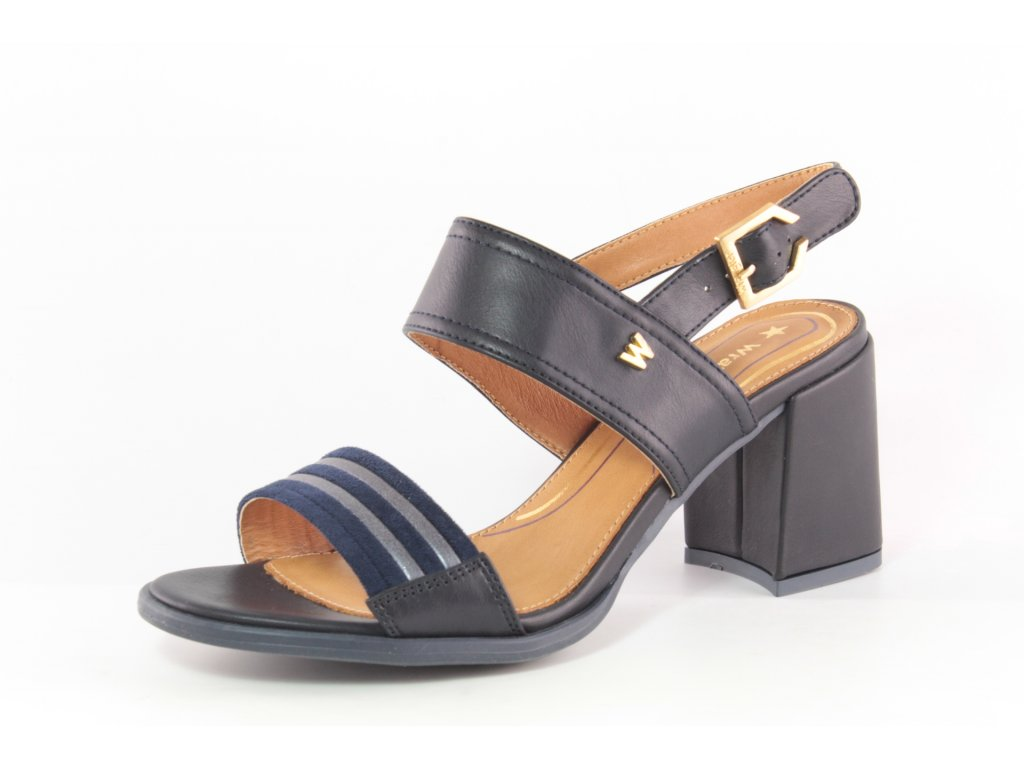 Dámské sandály Wrangler DL WL01590A temně modré AKCE (Barva Modrá, Velikost 41)