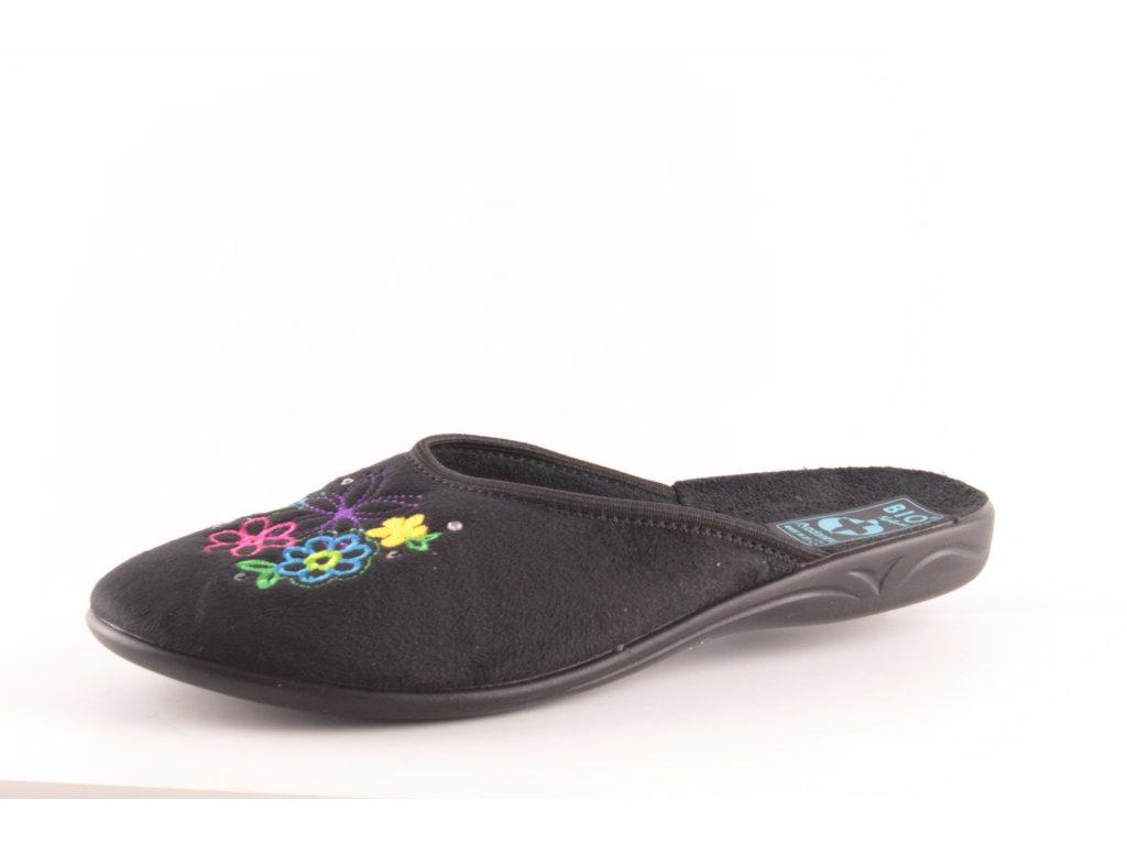 Dámské pantofle Adanex DD 24713 (Barva černá, Velikost 40)