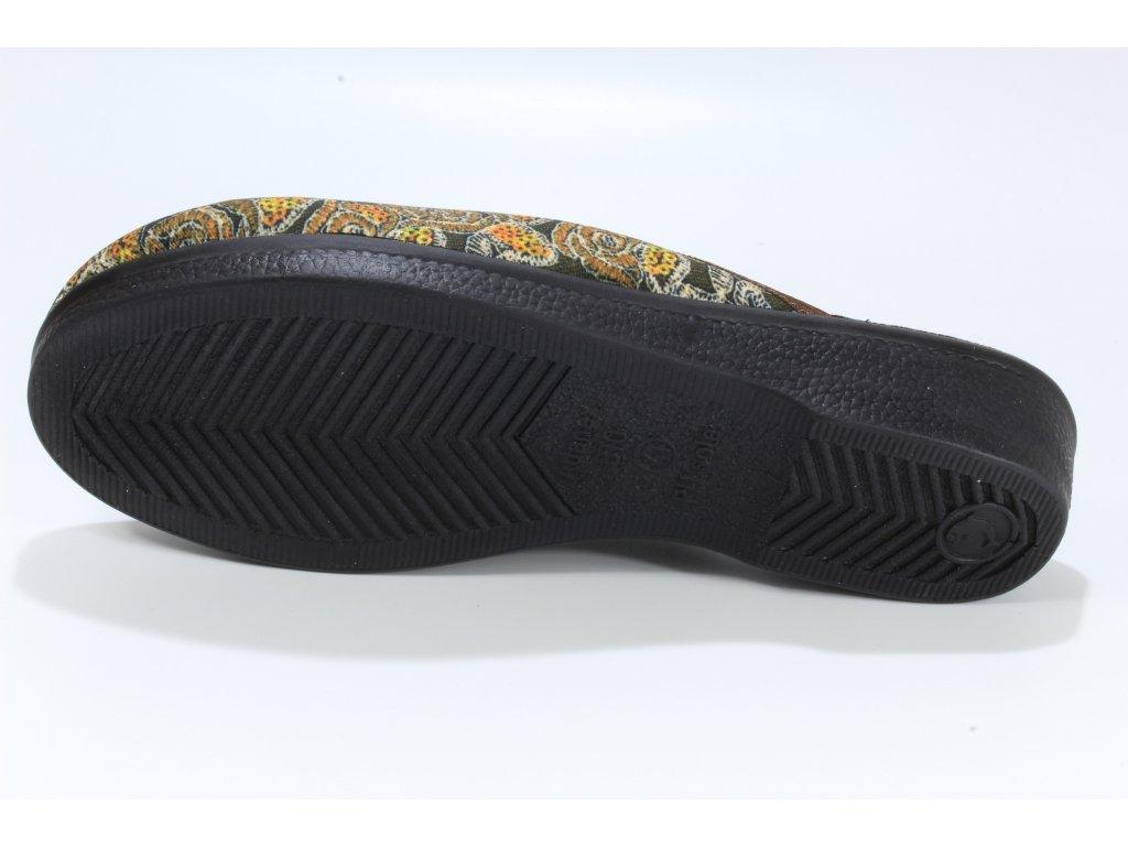 Dámské pantofle ADANEX 21637 (Barva černá, Velikost 39)