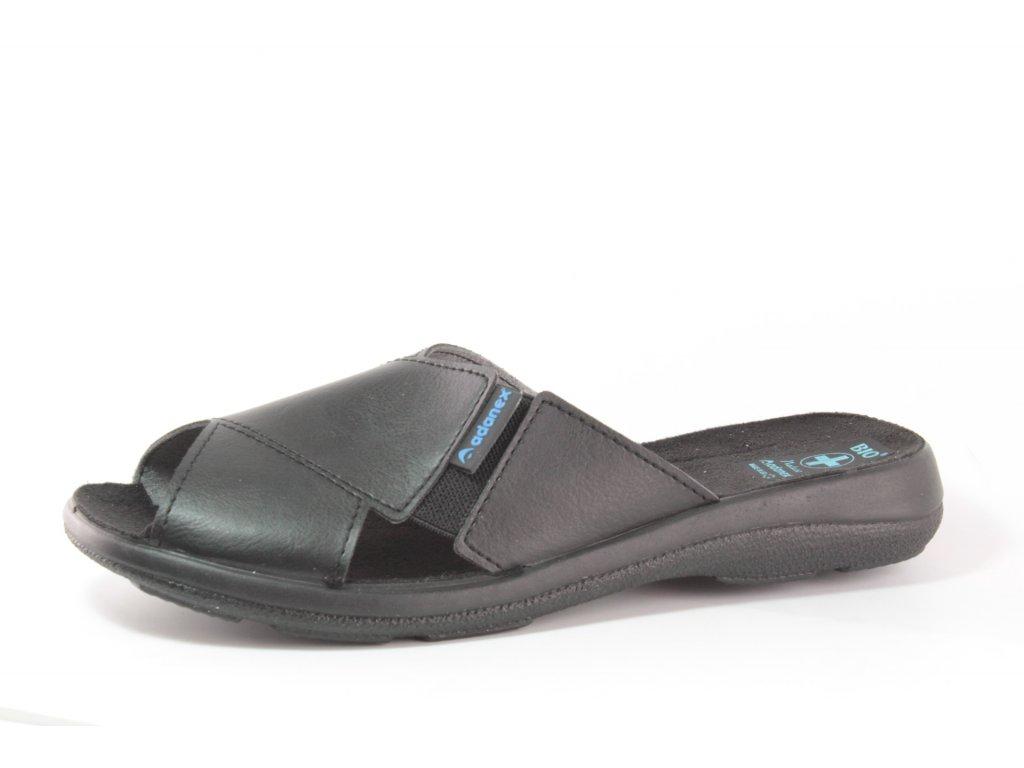 Pánské pantofle Adanex PD 13743 (Barva černá, Velikost 46)