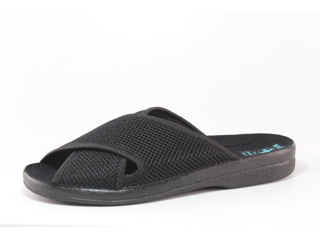 Pánské pantofle Adanex PD 16353 (Barva černá, Velikost 45)
