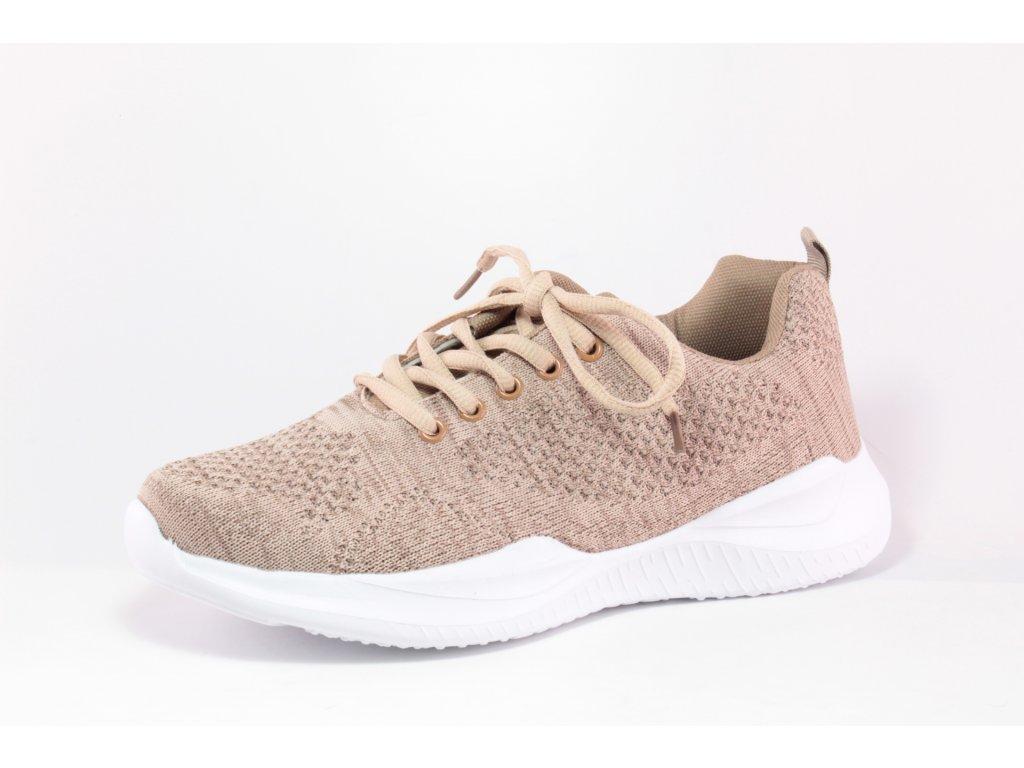Dámské boty Obutex SD FG01963-1-3 béžové (Barva béžová, Velikost 41)
