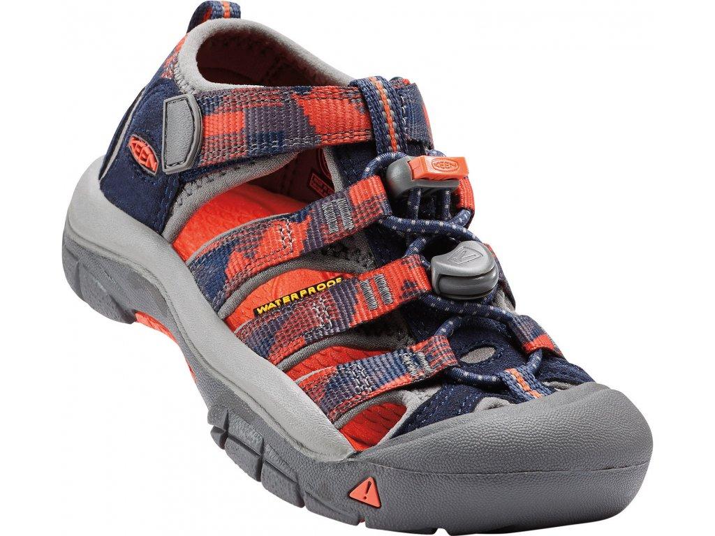Dětská a dámská obuv Keen NEWPORT H2 DRESS (Barva Modrá, Velikost 31)