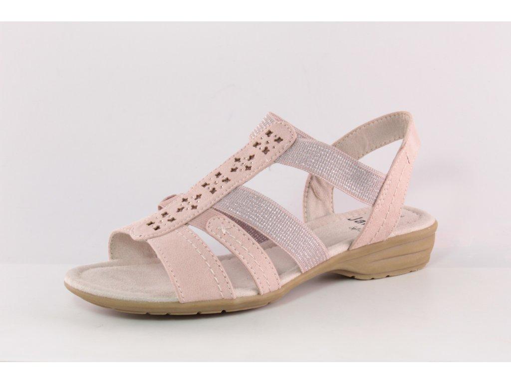 Dámské boty letní Jana DL 8-28163/24 růžové (Barva růžová, Velikost 40)