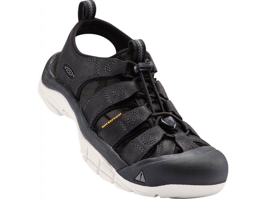 Dámská obuv Keen NEWPORT BLACK (Barva černá, Velikost 40)