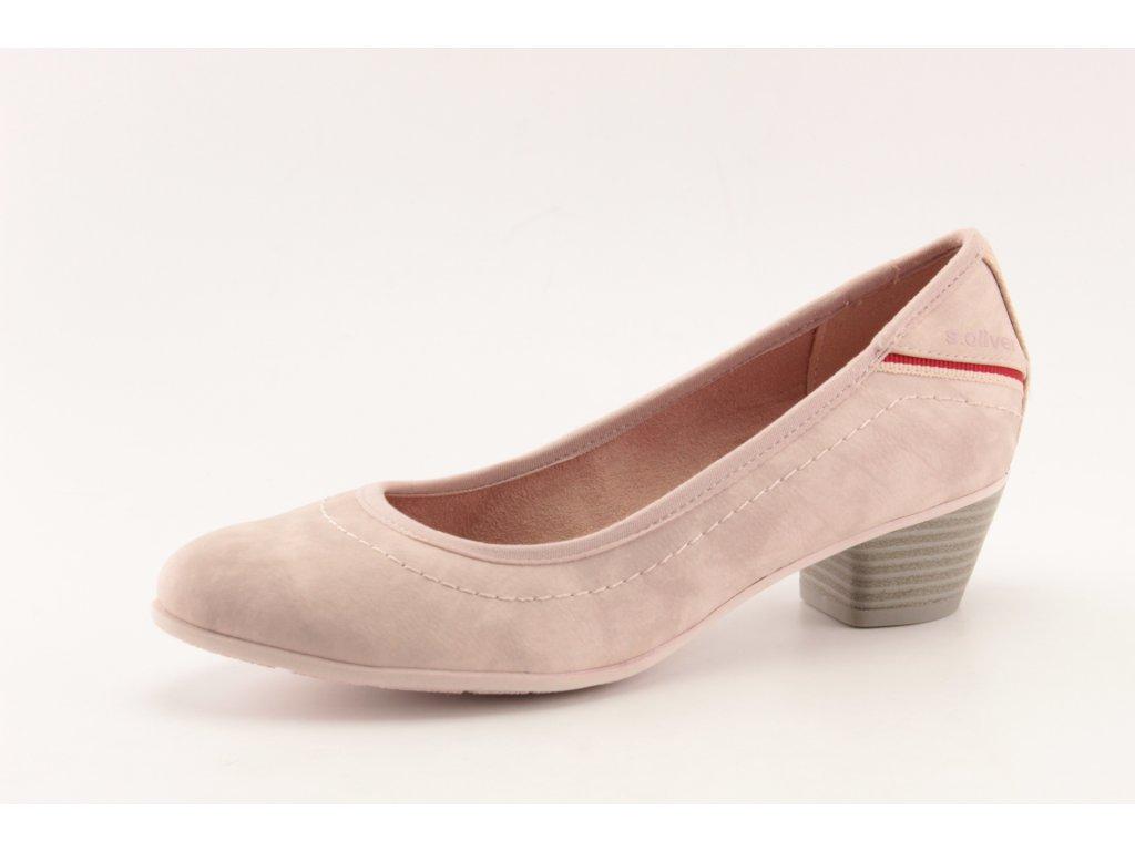 Dámské boty s.Oliver DC 5-22301/34 růžové (Barva růžová, Velikost 41)