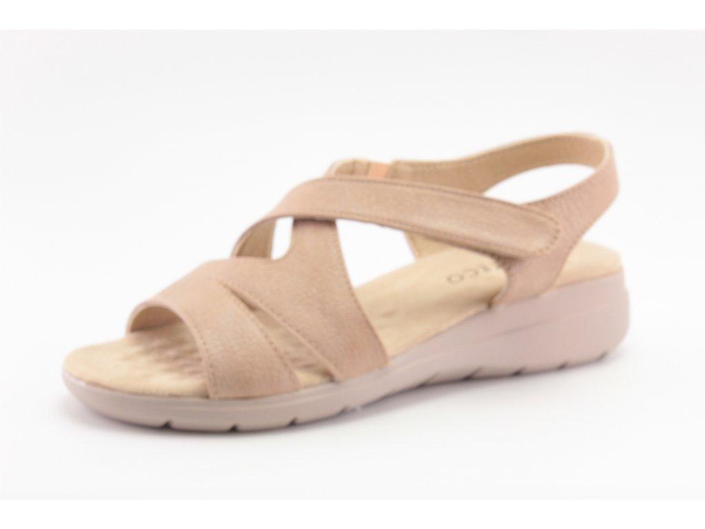 Dámské boty letní Obutex DL SC01030-1-3 (Barva béžová, Velikost 41)