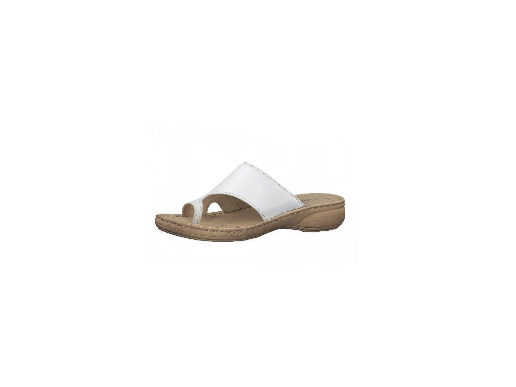 Dámské boty letní Marco Tozzi DL 2-27900/24 KOŽENÉ (Barva Bílá, Velikost 40)