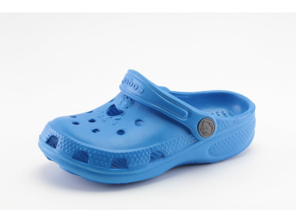 Dětské kroksy COQUI AO 8101/90 modré (Barva Modrá, Velikost 37)