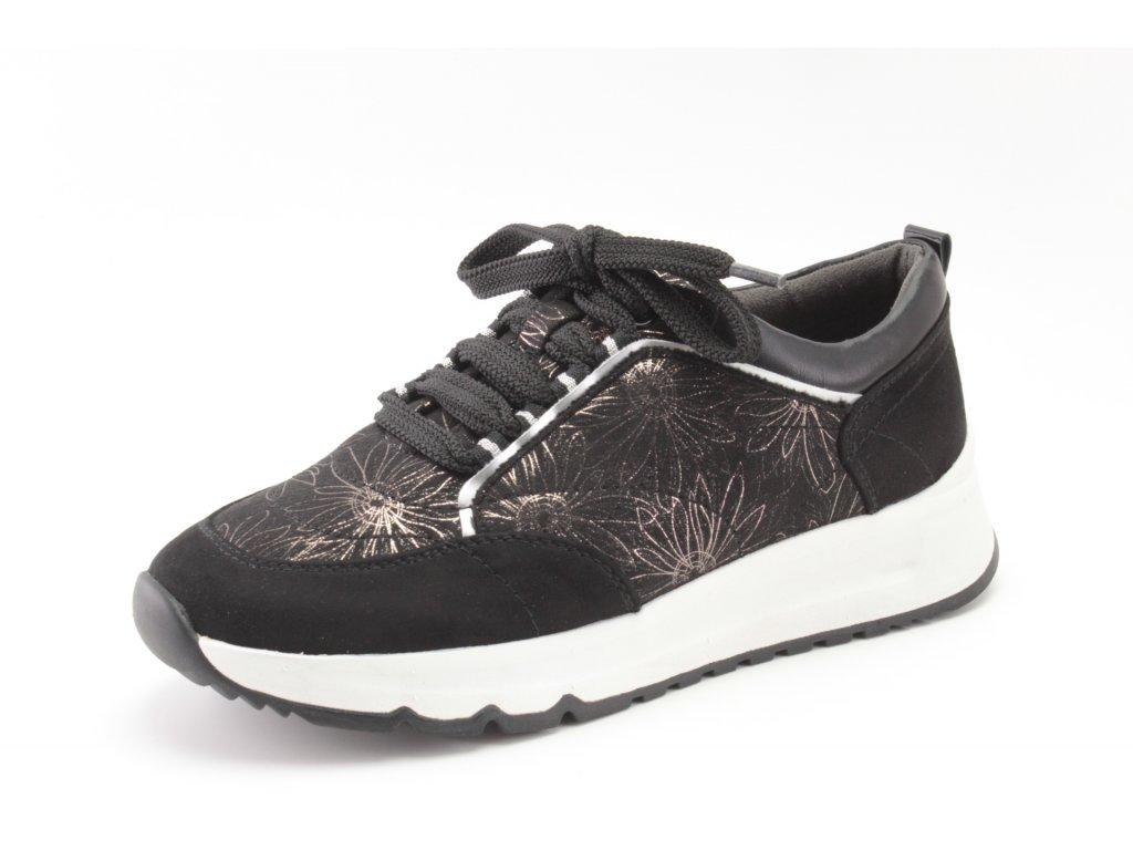 Dámské boty Jana SD 8-23764/25 černé (Barva černá, Velikost 42)