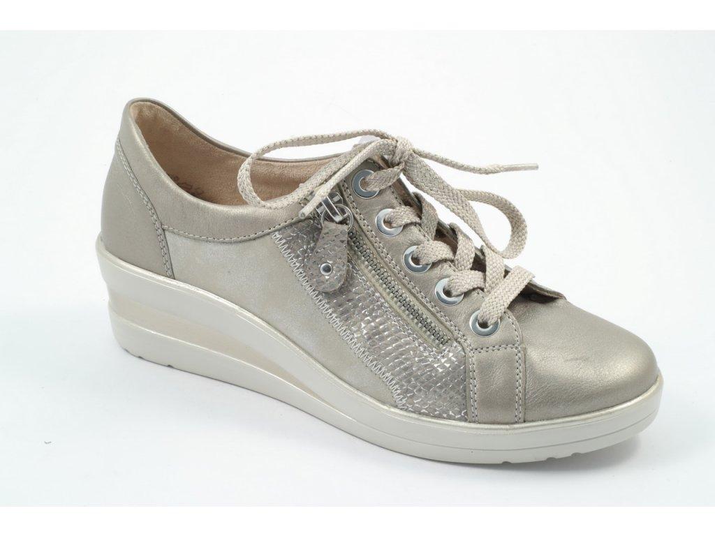 Dámské boty Rieker - Remonte DC R7206-90 (Barva béžová, Velikost 41)