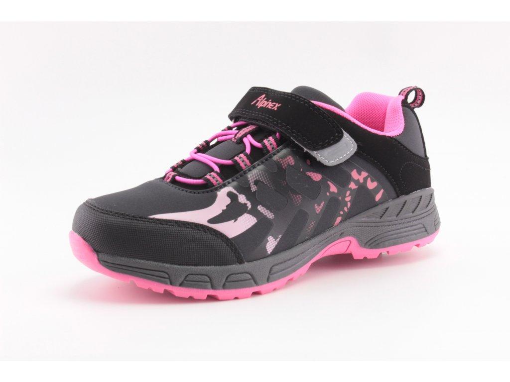 Dětské boty ALPINEX SA A220015B vel. 28-35 (Barva černá, Velikost 35)