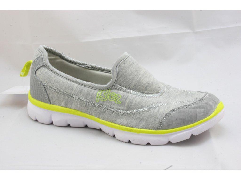 Dámská obuv EFFE TREE S-JB3-500 (Barva šedá, Velikost 39)