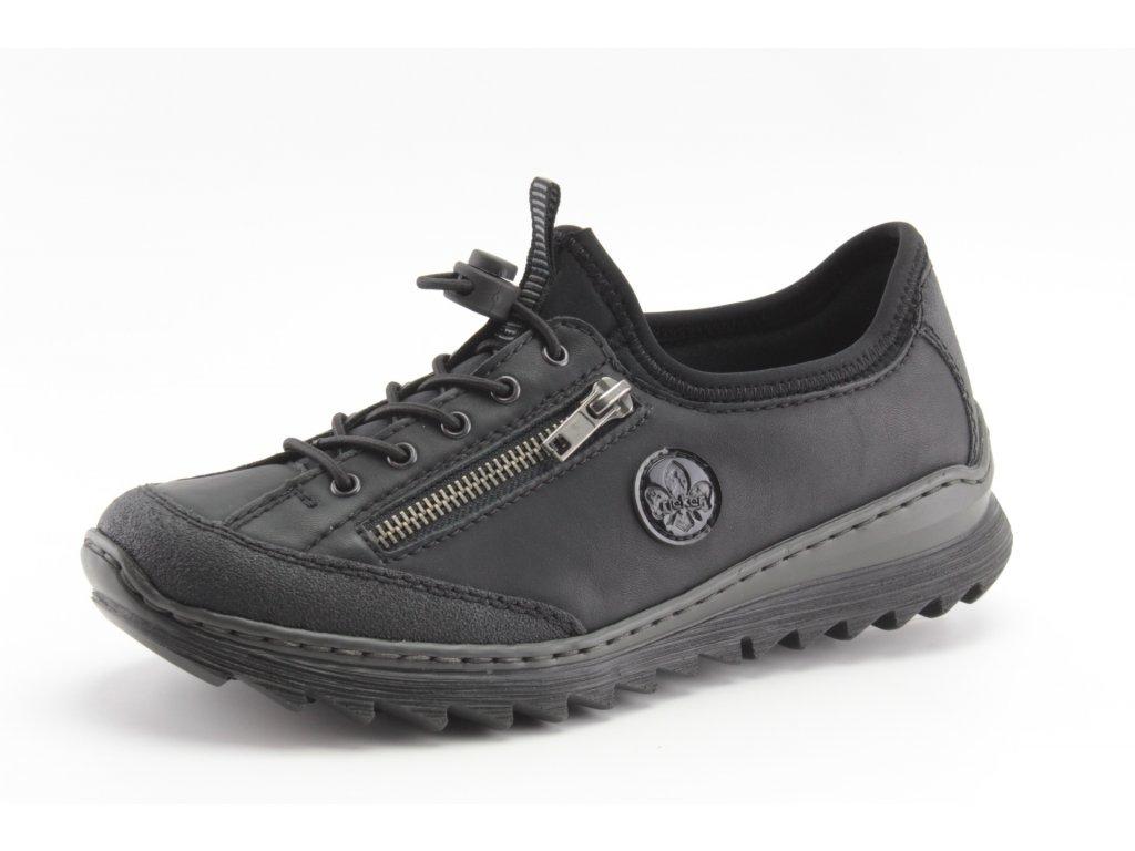 Dámské boty Rieker DC M6269-02 (Barva černá, Velikost 42)