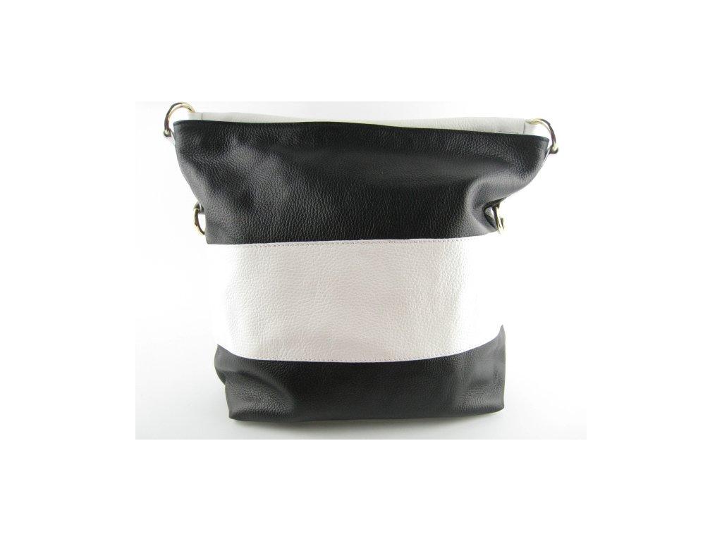 Dámská kožená kabelka F8 K201