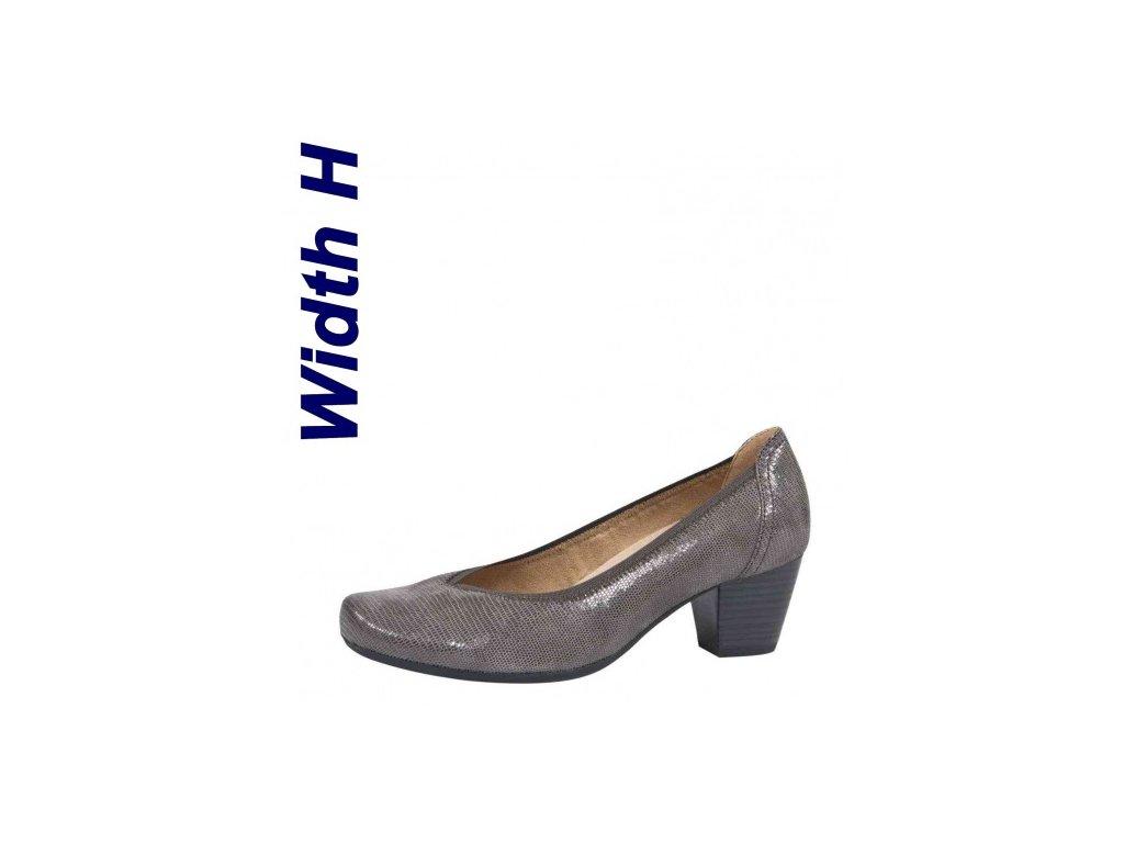 Dámské lodičky CAPRICE 9-22300/29 (Barva šedá, Velikost 41)