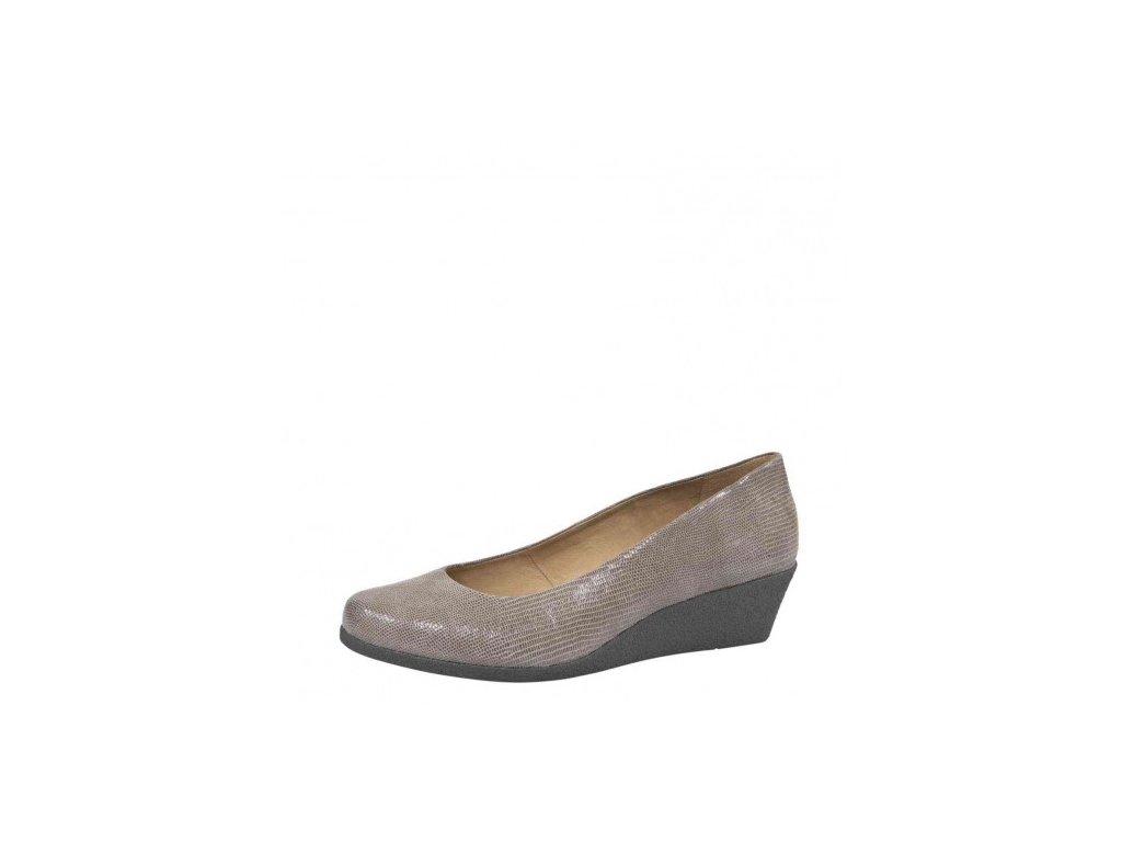 Dámské lodičky CAPRICE 9-22318/29 béžová (Barva šedá, Velikost 41)