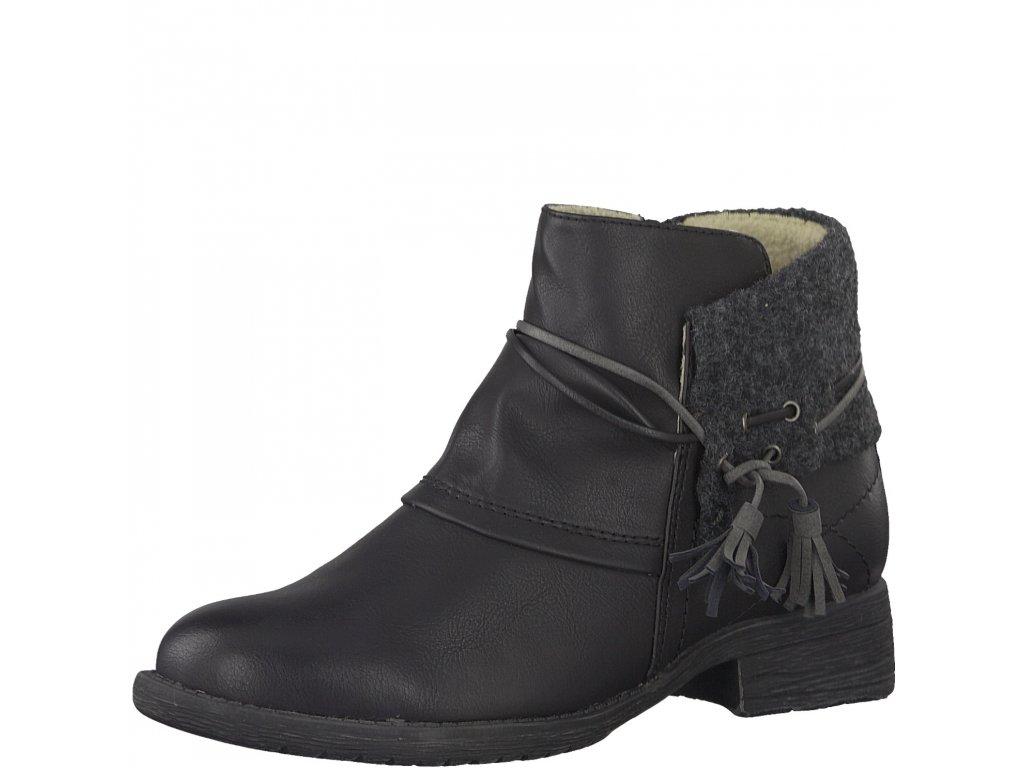 Dámská zimní obuv Jana 8-25464/29 (Barva černá, Velikost 40)