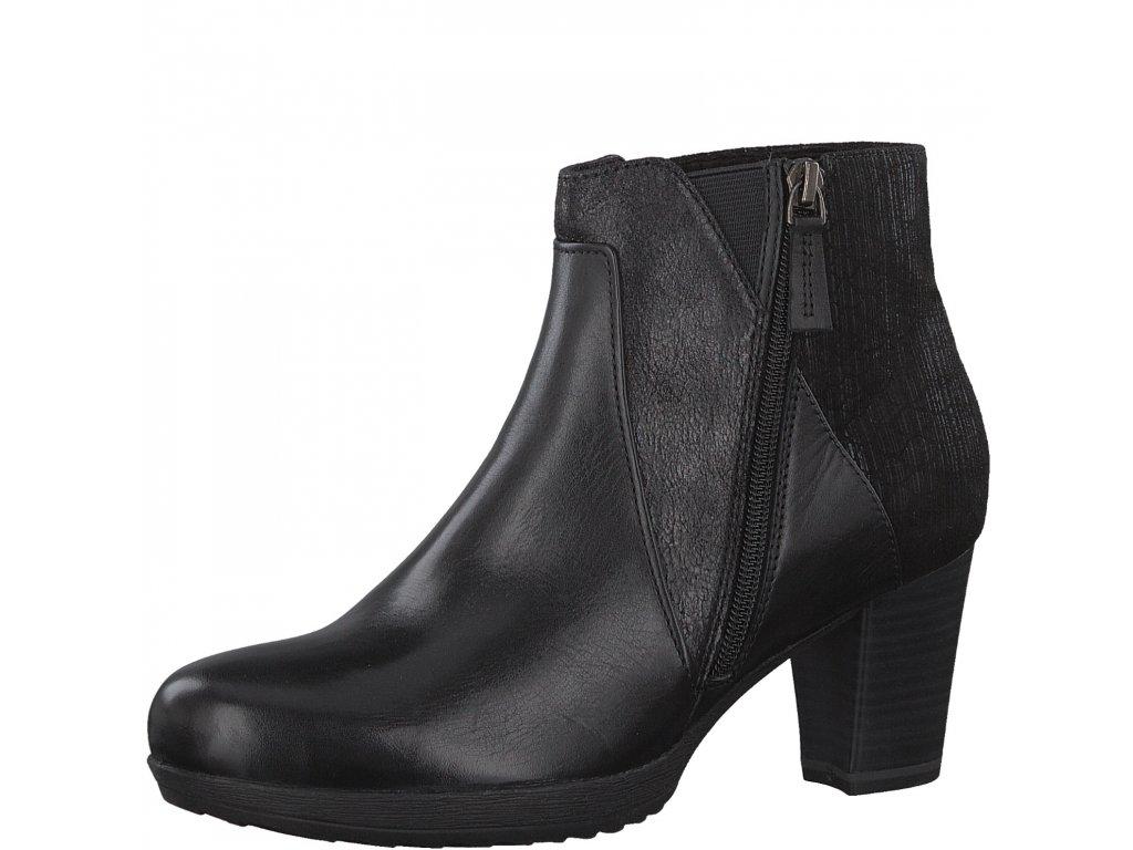 Dámská kotníčková obuv Tamaris 1-25380/29 (Barva černá, Velikost 41)