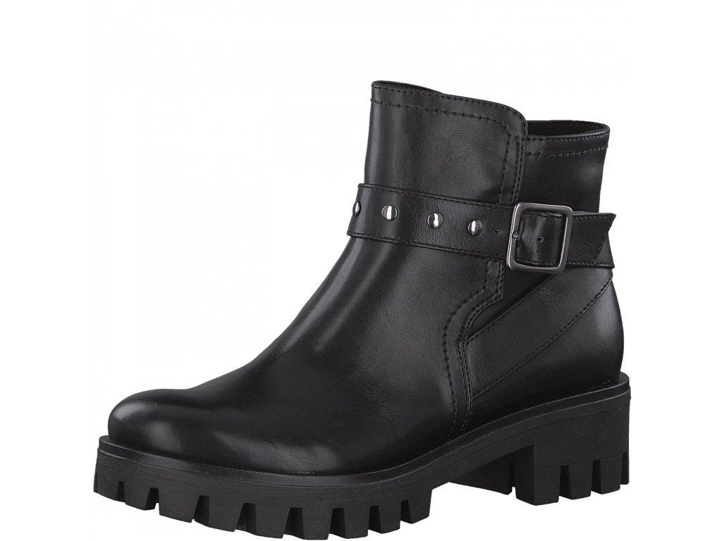 Dámské kotníčkové boty Tamaris 1-25456/29 (Barva černá, Velikost 42)